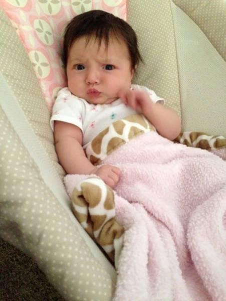 Бебе с коса