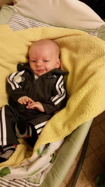 Бебе с анцунг