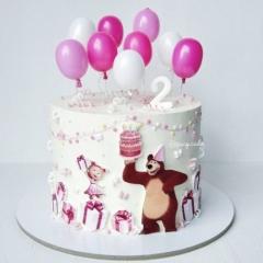 маша и мечока - рожден ден