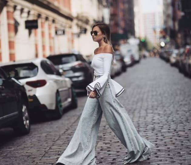 Широки панталони