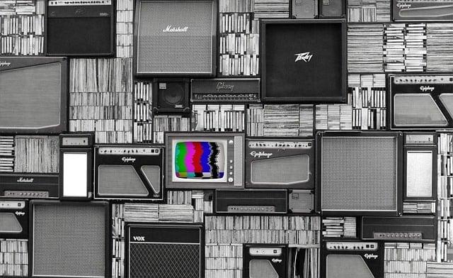 включен телевизор