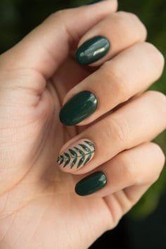 зелен лак