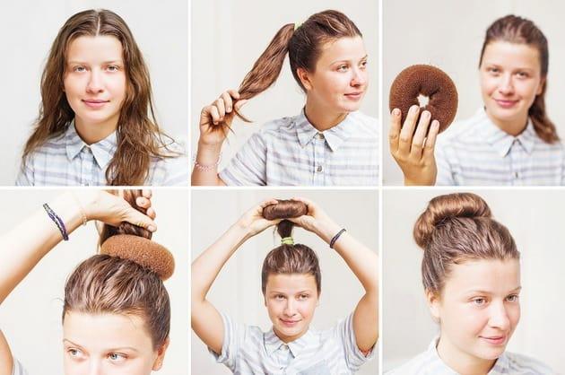 коса на кок