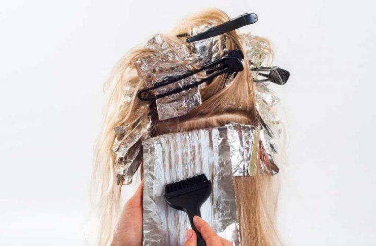 боядисване на коса