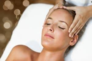 лицев масаж