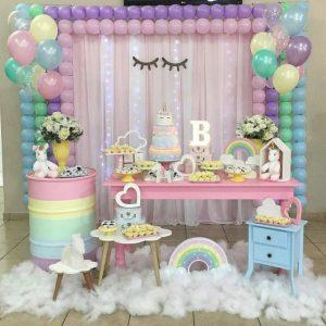 """Парти за детски рожден ден: Тема """"Еднорог"""" (Снимки)"""