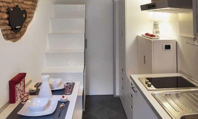 Бихте ли живели в апартамент от 7 квадратни метра? (Снимки)
