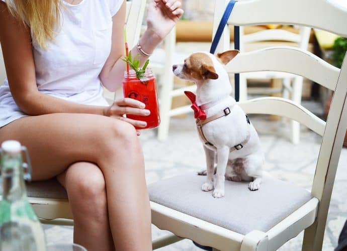 жена с куче