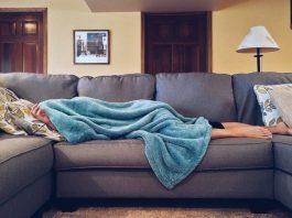 спане вкъщи